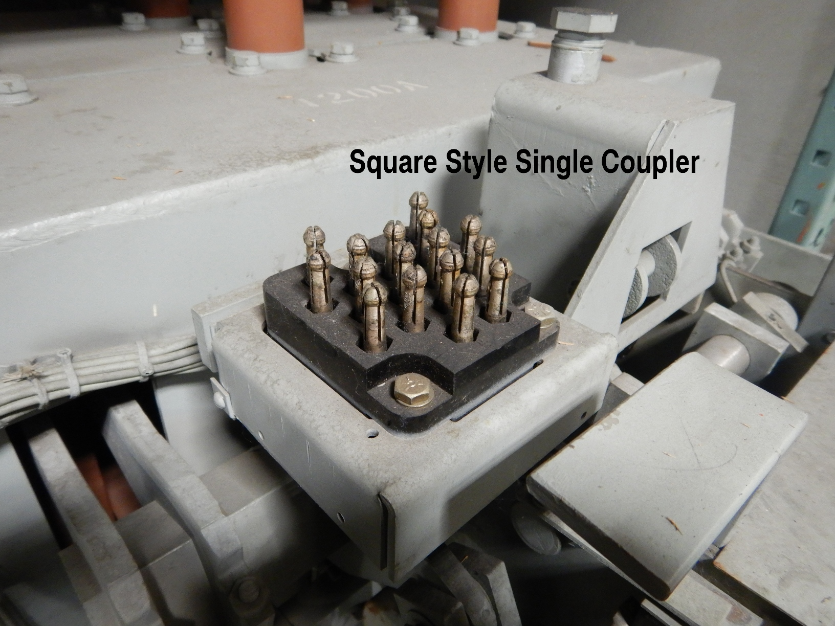 Square style single coupler Magne-Blast breaker.