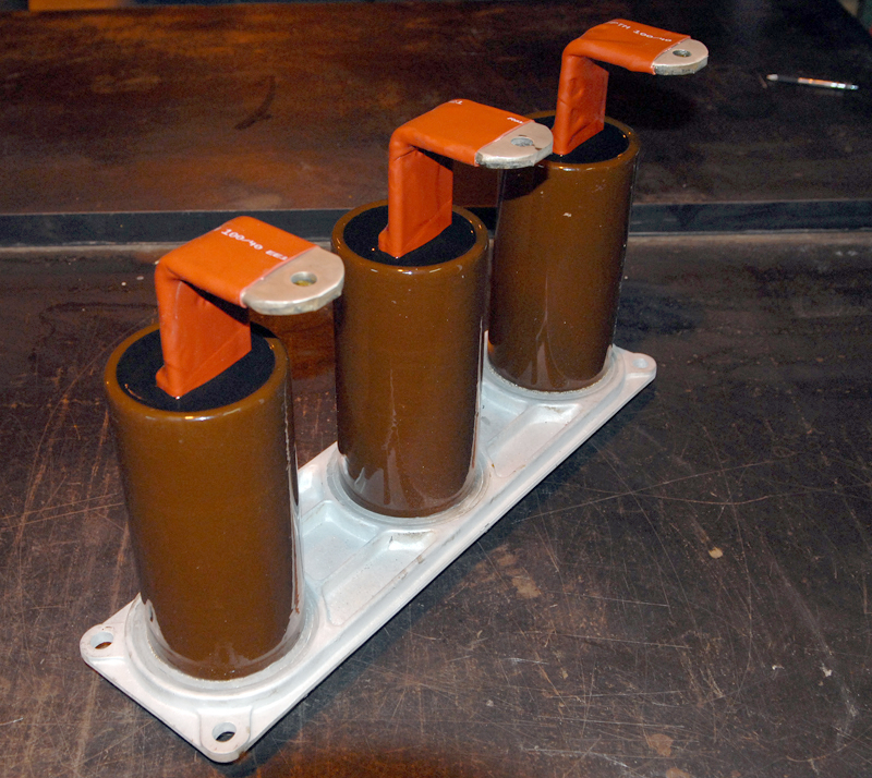 Magne-Blast bottles for an am13 8 load side