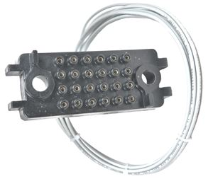 Picture of VB/VB1 Secondary Disconnect Block w/wiring (cell side)